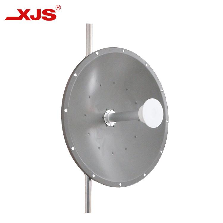 4.9-6.4GHz 30dBi Dual Polarity Mimo Dish Antenna